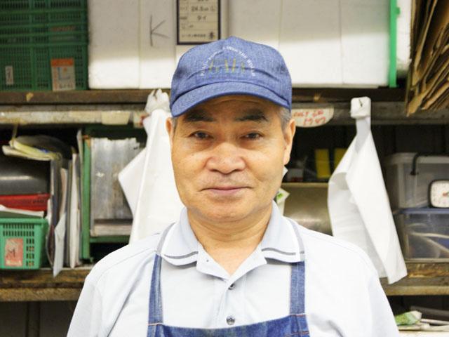 店長さんの写真