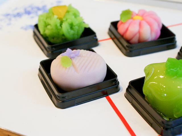 つるやの和菓子 その1の写真