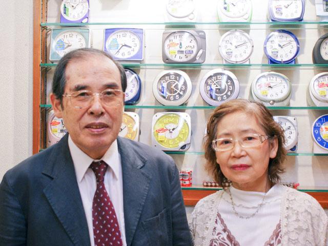 店長さん夫婦の写真