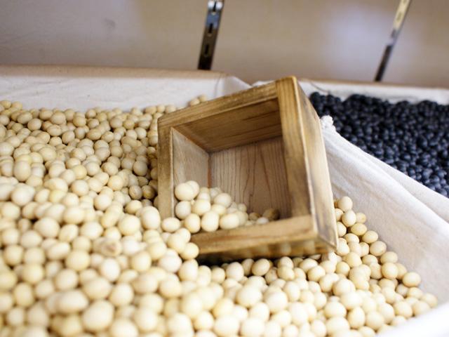 2. 多種類の豆もおいてます!の写真