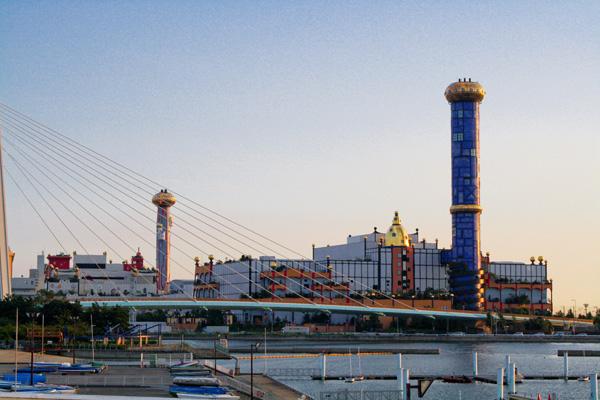 大阪市環境局舞洲工場の写真